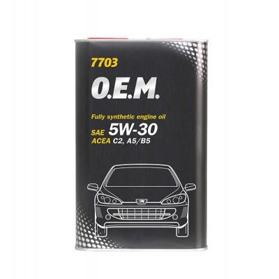 MANNOL 7706 OEM for Renault Nissan 5W-30 C4 5л METAL