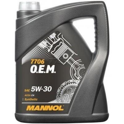 MANNOL 7706 OEM for Renault Nissan 5W-30 C4 5л