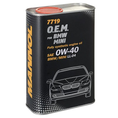 MANNOL 7719 OEM for BMW Mini 0W-40 1л METAL