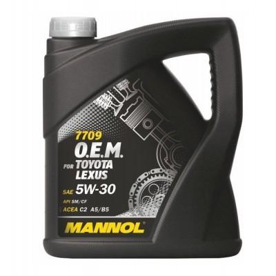 MANNOL 7709 OEM for Toyota Lexus 5W-30 SM/CF 4л