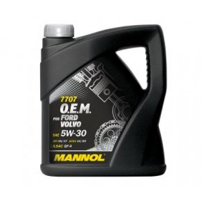 MANNOL 7707 OEM for Ford Volvo 5W-30 SN/CF 4л