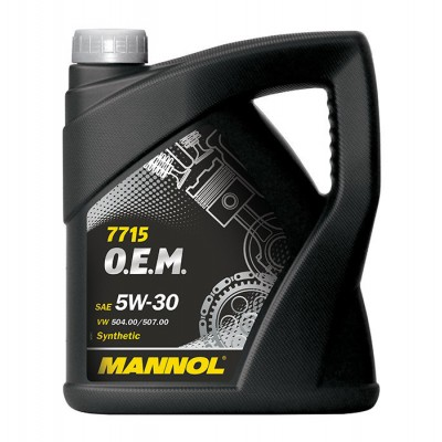 MANNOL 7715 OEM for VW Audi Skoda 5W-30 SN/SM/CF 5л