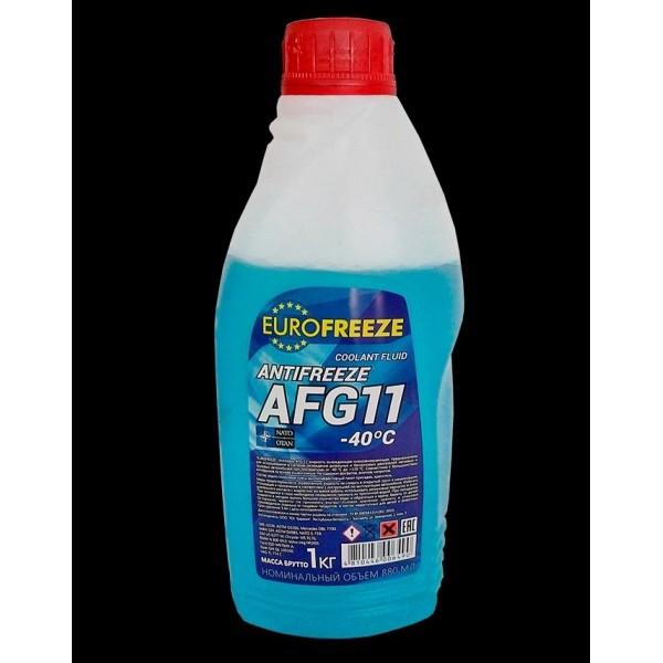 EUROFREEZE Antifreeze AFG 11 -40C 1кг (0,88л) Синий