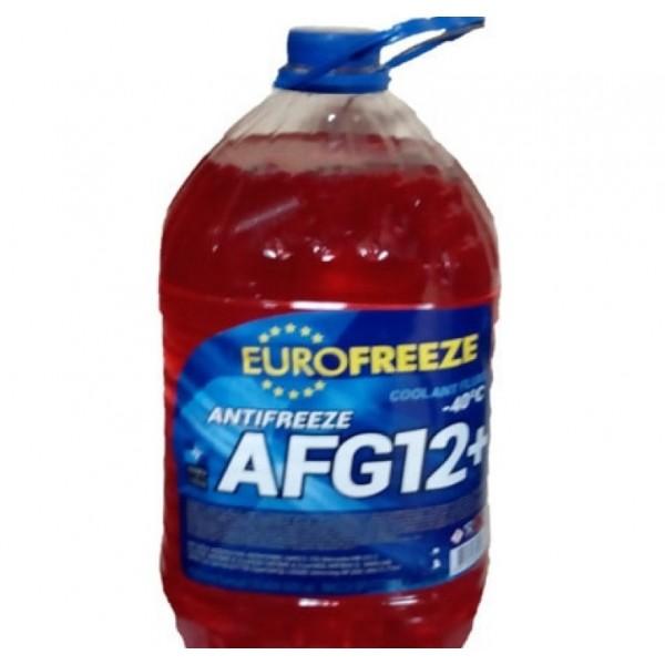 EUROFREEZE Antifreeze AFG 12+ -40C 10кг (9л) Красный