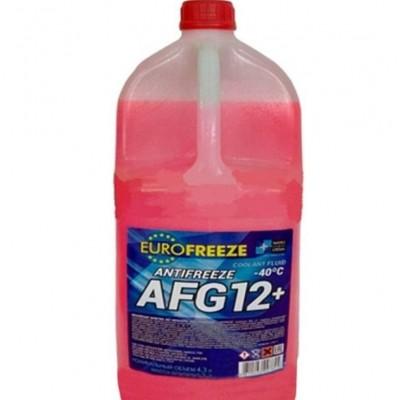 EUROFREEZE Antifreeze AFG 12+ -40C 1 кг (0,88л) Красный