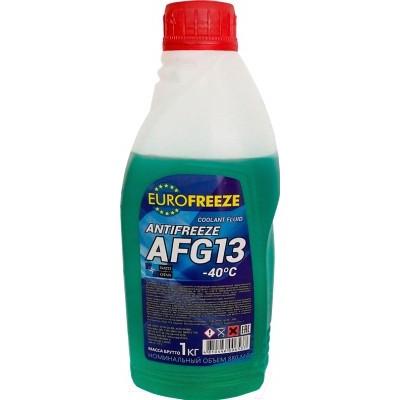 EUROFREEZE Antifreeze AFG 13 -40C 1 кг (0,88л) Зелёный