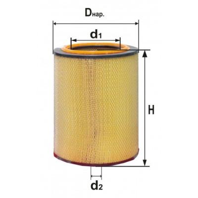 P603755 Воздушный фильтр Donaldson (Аналогами являются - RS4622 BALDWIN)