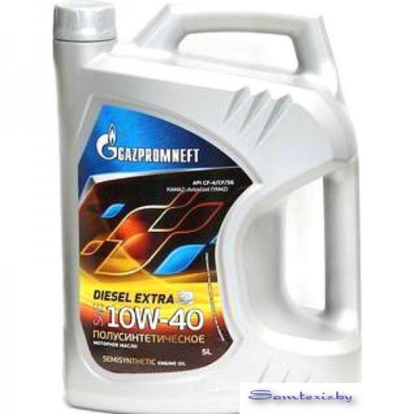 Моторное масло Gazpromneft Diesel Extra 10W-40 5л