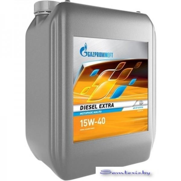 Моторное масло Gazpromneft Diesel Extra 15W-40 10л