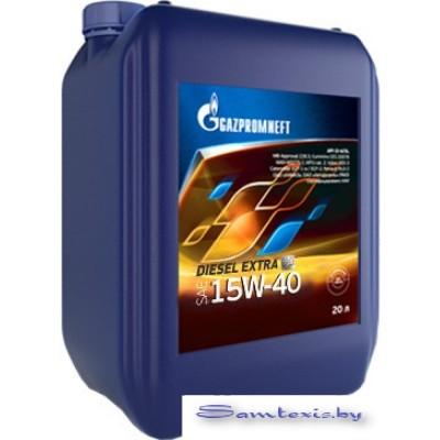 Моторное масло Gazpromneft Diesel Extra 15W-40 20л