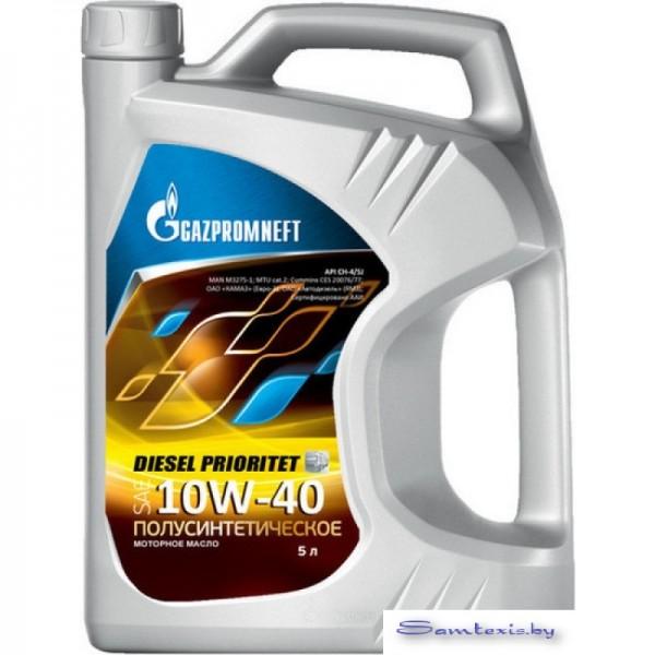 Моторное масло Gazpromneft Diesel Prioritet 10W-40 5л