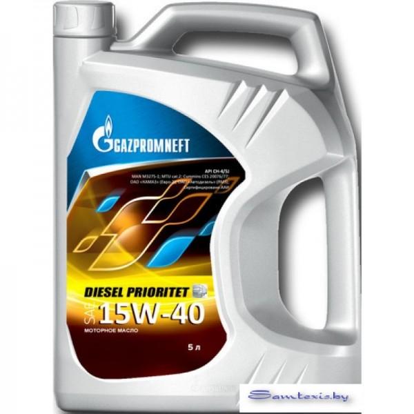 Моторное масло Gazpromneft Diesel Prioritet 15W-40 5л
