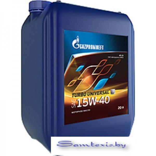 Моторное масло Gazpromneft Turbo Universal 15W-40 200л
