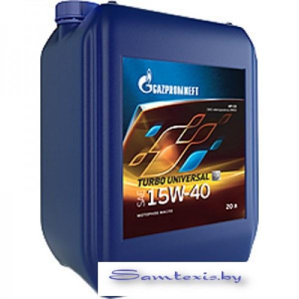 Моторное масло Gazpromneft Turbo Universal 15W-40 20л