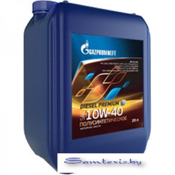 Моторное масло Gazpromneft Diesel Premium 10W-40 20л