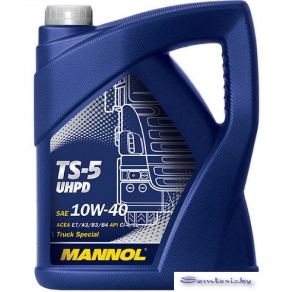 Моторное масло Mannol TS-5 UHPD 10W-40 5л