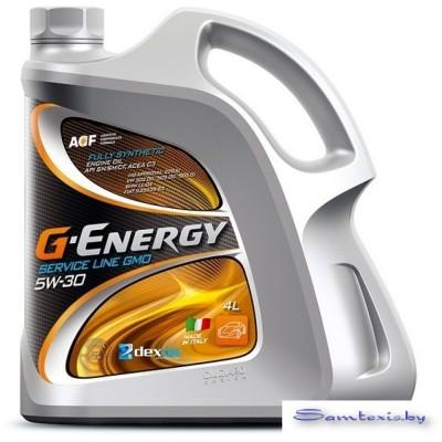 Моторное масло G-Energy Service Line GMO 5W-30 4л