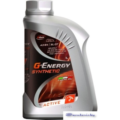Моторное масло G-Energy Synthetic Active 5W-40 1л