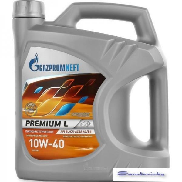 Моторное масло Gazpromneft Premium L 10W-40 5л