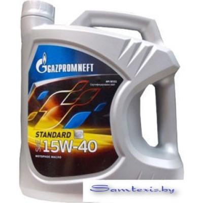 Моторное масло Gazpromneft Standard 15W-40 4л