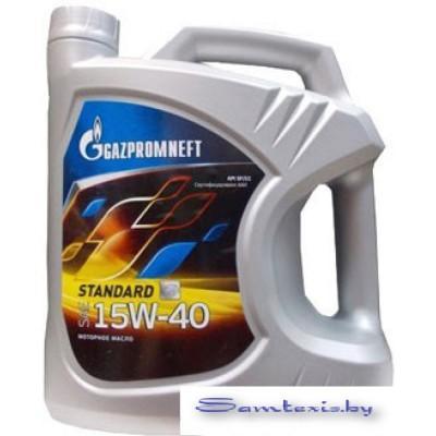 Моторное масло Gazpromneft Standard 15W-40 5л