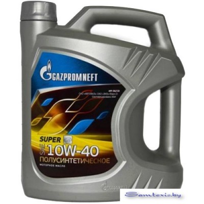 Моторное масло Gazpromneft Super 10W-40 SG/CD 5л