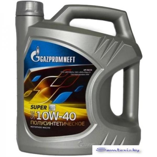 Моторное масло Gazpromneft Super 10W-40 SG/CD 5л