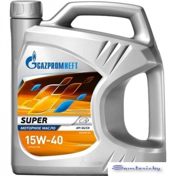 Моторное масло Gazpromneft Super 15W-40 5л