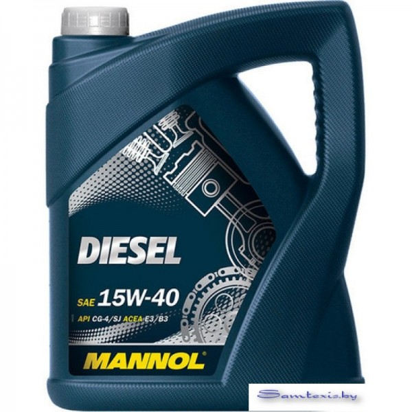 Моторное масло Mannol Diesel 15W-40 API CG-4/CF-4/CF/SL 5л