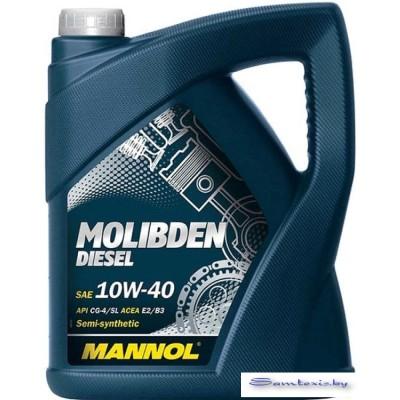 Моторное масло Mannol Molibden Diesel 10W-40 5л