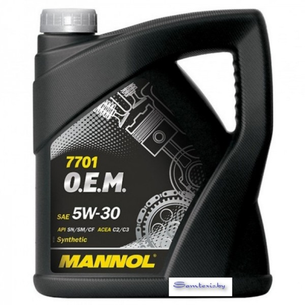 Моторное масло Mannol O.E.M. for chevrolet opel 5W-30 4л