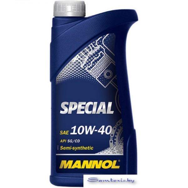 Моторное масло Mannol SPECIAL 10W-40 API SG/CD 1л