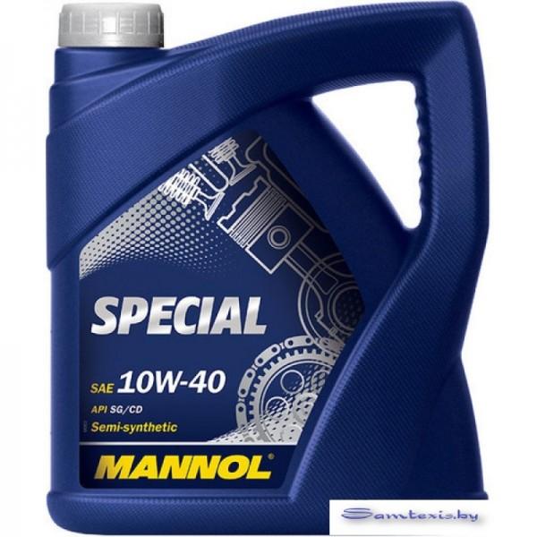 Моторное масло Mannol SPECIAL 10W-40 API SG/CD 5л
