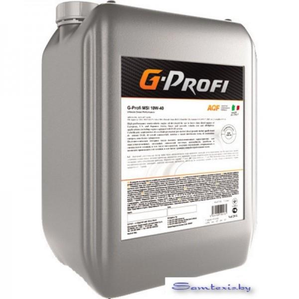 Моторное масло G-Energy G-Profi MSI 10W-40 10л