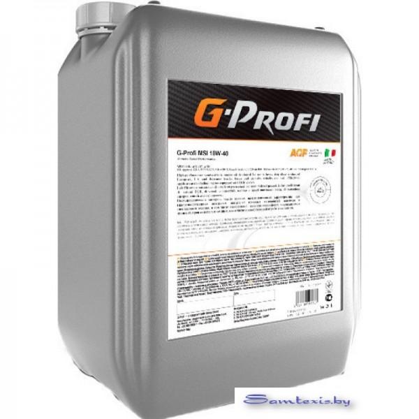 Моторное масло G-Energy G-Profi MSI 10W-40 20л