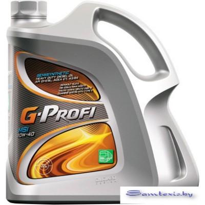 Моторное масло G-Energy G-Profi MSI 10W-40 5л