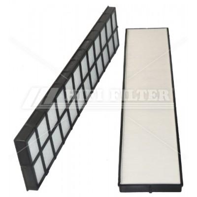 SC 90007 Воздушный фильтр (салонный) HIFI FILTER (SC90007)
