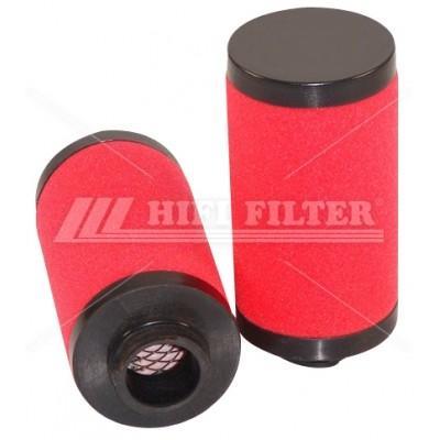 SI 80251 Фильтр тонкой очистки HIFI FILTER (SI80251)
