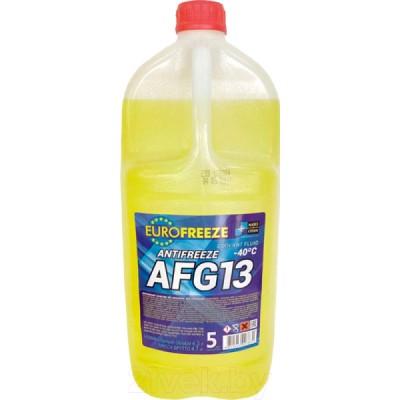 EUROFREEZE Antifreeze AFG 13 -40C 4,7кг Жёлтый