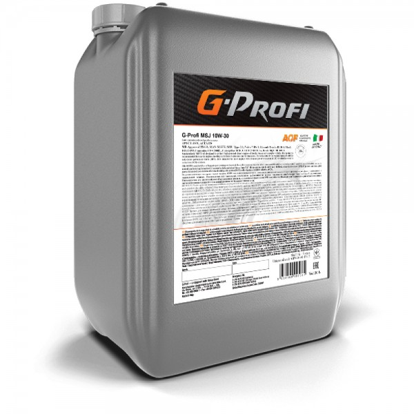 Моторное масло G-Energy G-Profi MSJ 10W-30 20л