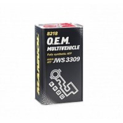 MANNOL 8218 ATF Multivehicle O.E.M. JWS 3309 4л METAL