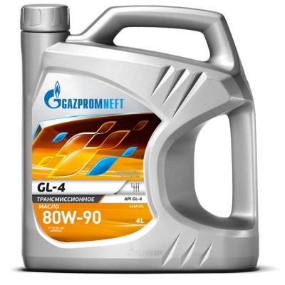 Трансмиссионное масло Gazpromneft GL-4 80W-90 4 л