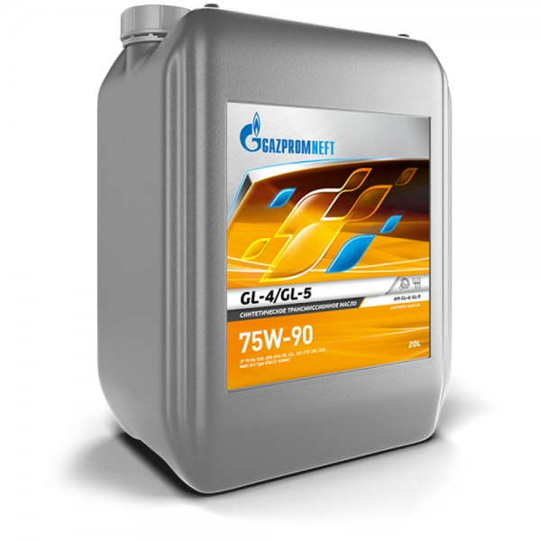 Трансмиссионное масло Gazpromneft GL-4/GL-5 75W-90 20 л