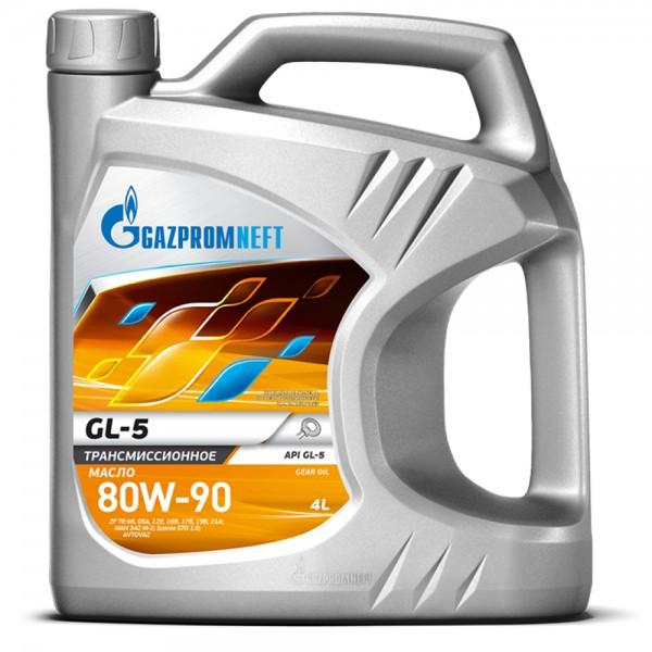 Трансмиссионное масло Gazpromneft GL-5 80W-90 10 л