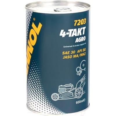 MANNOL 4-Takt Agro SAE 30 7203 600мл METAL