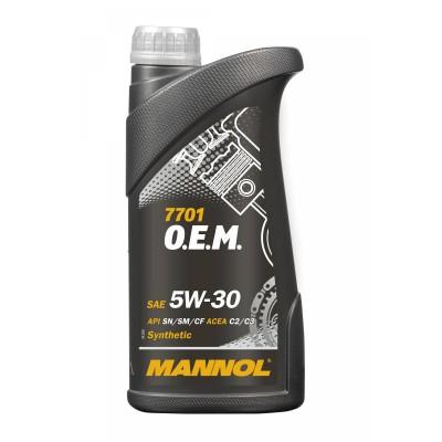 MANNOL 7701 OEM for Chevrolet Opel  5W-30 SN/SM/CF 1л
