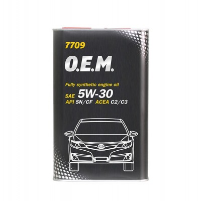 MANNOL 7709 OEM for Toyota Lexus 5W-30 SM/CF 4л METAL