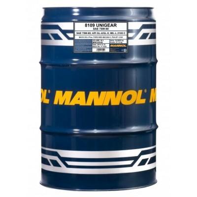MANNOL 8109 Unigear 75W-80 GL-4/GL-5 LS 60л