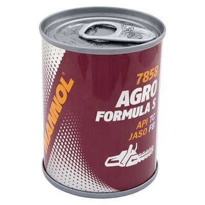 MANNOL Agro Formula S 7858 100 мл METAL