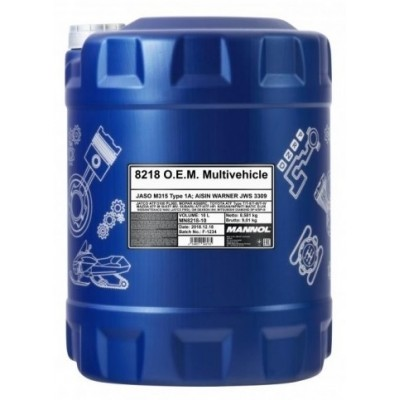 MANNOL 8218 ATF Multivehicle O.E.M. JWS 3309 20л